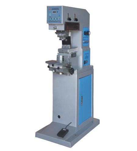 YYD-125-100 Tek Renk 10x10cm Açık Hazne Tampon Baskı Makinesi