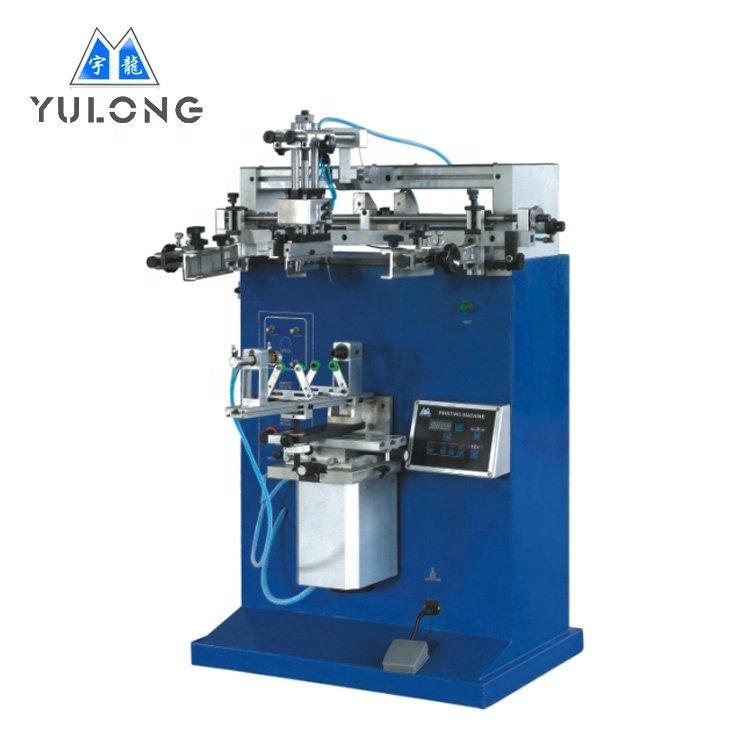 YLS 400S Düz-Silindir Serigrafi Baskı Makinesi