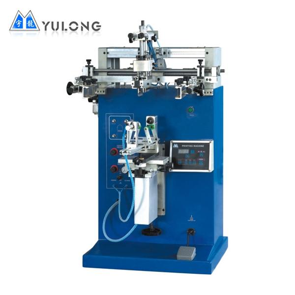 YLS 250M/S Düz-Yuvarlak Serigrafi Baskı Makinesi
